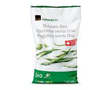 Coop Naturaplan Bio-Bohnen fein, Schweiz, tiefgekühlt, 1 kg