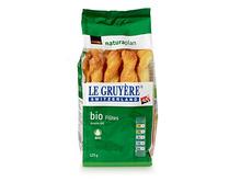 Coop Naturaplan Bio-Flûtes Le Gruyère, 125 g