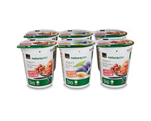 Coop Naturaplan Bio-Jogurt Limited Edition Herbst/Winter, Fairtrade Max Havelaar, 6 x 180 g