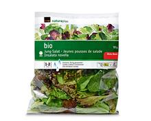 Coop Naturaplan Bio-Jungsalat, fertig gerüstet und gewaschen, 90 g + 20% gratis