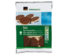 Coop Naturaplan Bio-Mini-Reiswaffeln Milchschokolade, 60 g