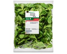 Coop Naturaplan Bio-Nüsslisalat, fertig gerüstet und gewaschen, 150 g