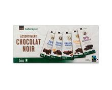 Coop Naturaplan Bio-Projekttafelschokolade, Fairtrade Max Havelaar, Degubox, 5 x 100 g, Multipack