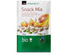Coop Naturaplan Bio-Snack Mix, Fairtrade Max Havelaar, 120 g