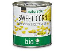 Coop Naturaplan Bio-Süssmais, 4 x 140 g, Multipack