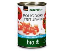 Coop Naturaplan Bio-Tomaten gehackt, 3 x 400 g, Trio