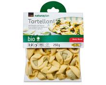 Coop Naturaplan Bio-Tortelloni Ricotta und Spinat, 3 x 250 g, Trio