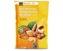 Coop Nusskerne-Mischung, Fairtrade Max Havelaar, 3 x 200 g, Trio