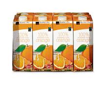 Coop Orangensaft, Fairtrade Max Havelaar, 8 x 1 Liter