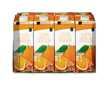 Coop Orangensaft, Fairtrade Max Havelaar, 8 x 1 Liter