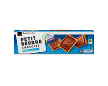 Coop Petit Beurre Chocolat au Lait, Fairtrade Max Havelaar, 4 x 150 g, Multipack