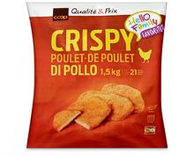 Coop Poulet Crispy, tiefgekühlt, 1,5 kg