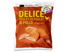 Coop Poulet Délice, tiefgekühlt, 1,5 kg