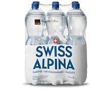Coop Swiss Alpina mit Kohlensäure, 2 x 6 x 1,5 Liter