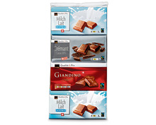 Coop Tafelschokolade assortiert, Fairtrade Max Havelaar, 20 x 100 g, Multipack