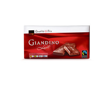 Coop Tafelschokolade Giandino Milch, Fairtrade Max Havelaar, 3 x 100 g, Trio