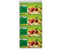 Coop Tafelschokolade Milch-Nuss, Fairtrade Max Havelaar, 20 x 100 g, Multipack