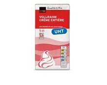 Coop Vollrahm, UHT, 35% Fett, 2 x 5 dl