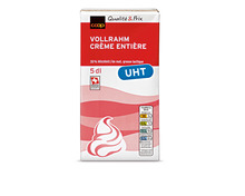 Coop Vollrahm UHT, 35% Fett, 2 x 5 dl, Duo