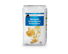 Coop Weissmehl, 4 x 1 kg, Multipack