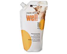 Coop Wel! Cream Hand Seife Almond & Honey, Nachfüllung, 500 ml