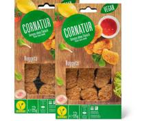 Cornatur-Nuggets, -Falafel oder Bio Kale Burger, Duo-Pack