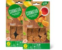 Cornatur-Nuggets oder -Quorn Mozzarella-Pesto-Schnitzel