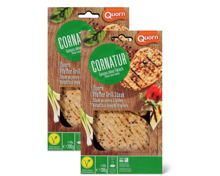 Cornatur Quorn Pfeffer-Grill-Steak, Bio-Plätzli oder -Kale Burger im Duo-Pack