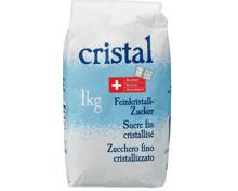 Cristal Feinkristallzucker 1 kg und im 10er-Pack, 10 x 1 kg