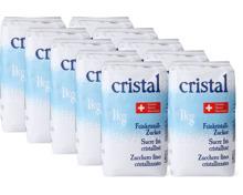 Cristal Feinkristallzucker im 10er-Pack