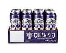 Cubanisto Rum Flavored Bier, Dosen, 12 x 50 cl