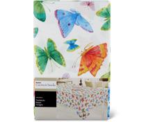 Cucina & Tavola Tischdecke mit Schmetterlings-Sujet