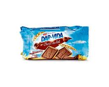 Dar-Vida Choco lait Snack Pack, 4 x 184 g