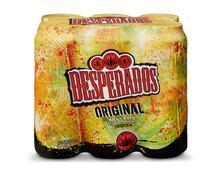 Desperados Bier mit Tequila-Aroma, Dosen, 6 x 50 cl