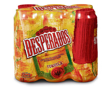Desperados Tequila Bier, Dosen, 6 x 50 cl