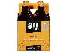 Docteur Gab's Chameau ambrée, 4 x 33 cl