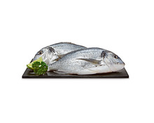 Dorade Royal, ganz, aus Zucht, Türkei, in Selbstbedienung, 2 Stück, 650 g
