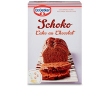 Dr. Oetker Backmischung Schokoladenkuchen, 2 x 485 g, Duo
