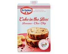 Dr. Oetker Cake Banana-Choco Chip, 175 g