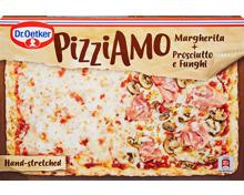 Dr. Oetker Pizziamo Margherita + Prosciutto e Funghi