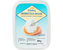 Dyhrberg Meerrettich-Mousse