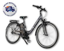 E-Bike mit Mittelmotor