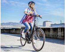 E-Bike mit Mittelmotor 28''