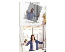 EASY HOME® Insekten-/Pollenschutz-Fenster mit Rahmen