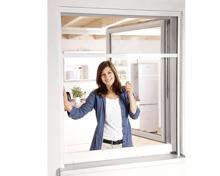 EASY HOME® Insektenschutz-Rollo/Dachfenster-Plissee
