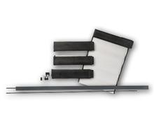 EASY HOME® Klemm-Lamellenvorhang/ Magnet-Insektenschutz-Fenster