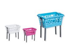 EASY HOME® Wäschekorb mit Standbeinen