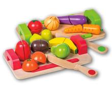 EICHHORN Schneidebrett Obst/Gemüse, 12-teilig