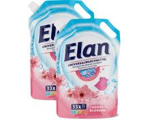 Elan Waschmittel-Nachfüllbeutel im Duo-Pack