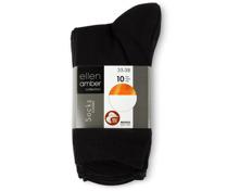 Ellen Amber Damen-Socken im 10er-Pack, Bio Cotton